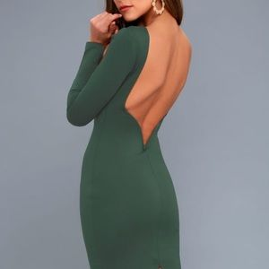 Lulu's green dress NWT